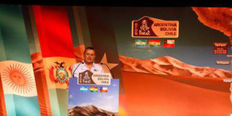 Presentación del Dakar 2015 en París