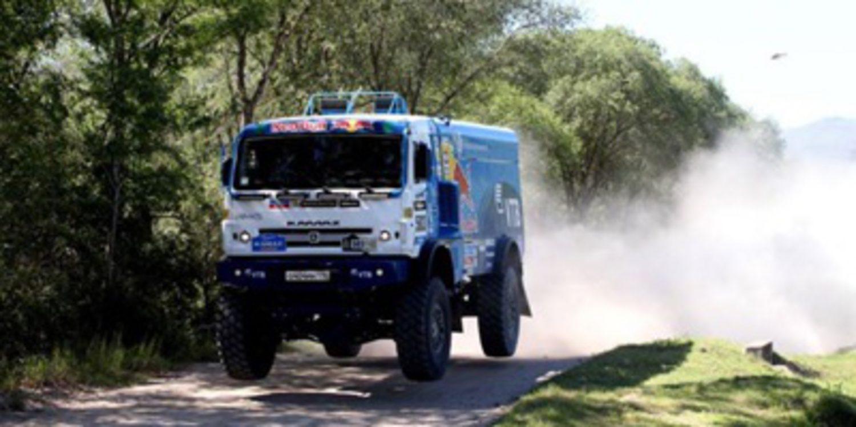 Lista de inscritos del Dakar 2015 en camiones
