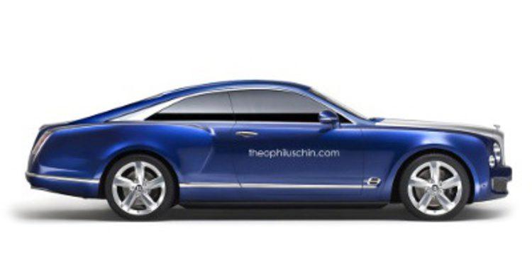 Recreación del Bentley Brooklands, el Grand Convertible versión coupé