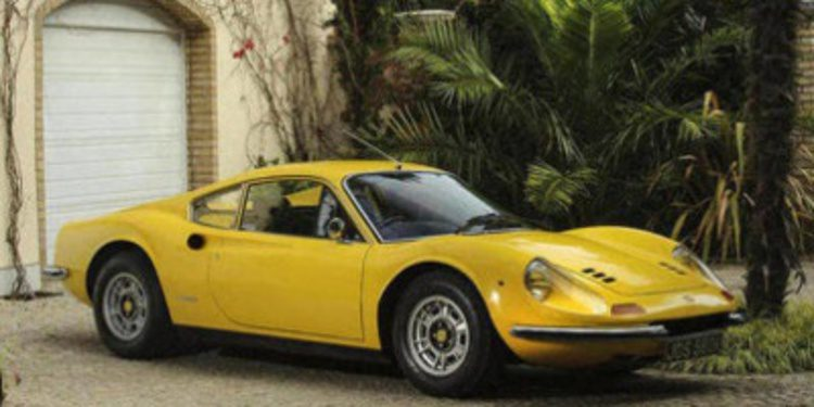 A subasta un Ferrari Dino 246 GT de Sir Elton John