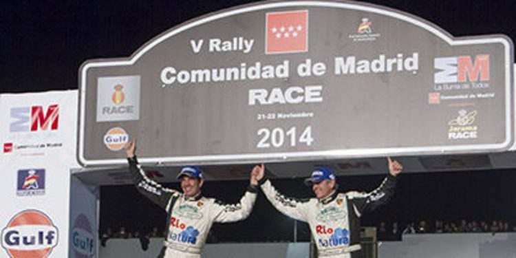 Sergio Vallejo es campeón en un Rally de Madrid para olvidar