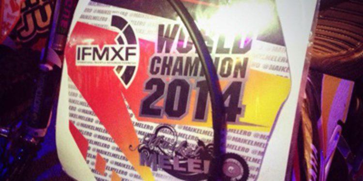 Maikel Melero Campeón del Mundo de FXM