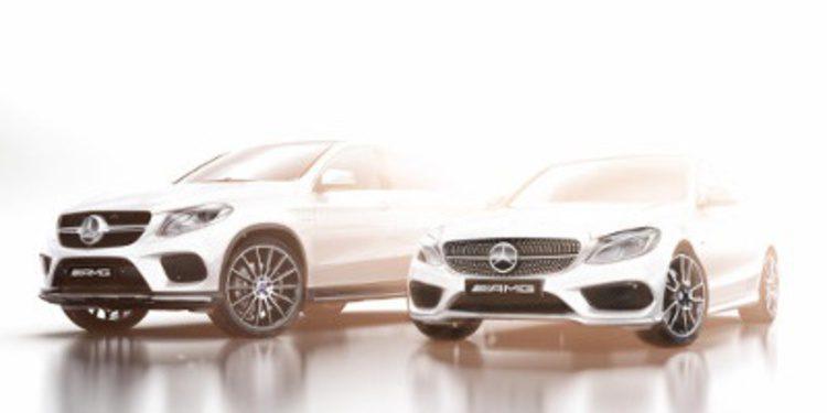 Nuevos línea Mercedes AMG y teaser del SUV coupé GLE