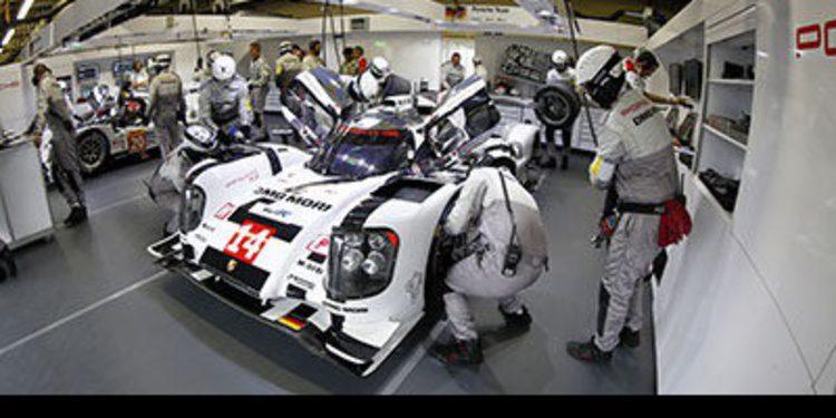 Porsche culmina el FP3 en Brasil en lo más alto