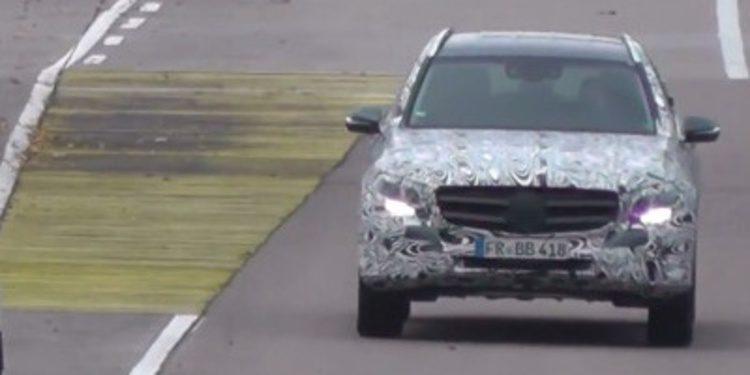 Vídeo espía del nuevo Mercedes-Benz GLC