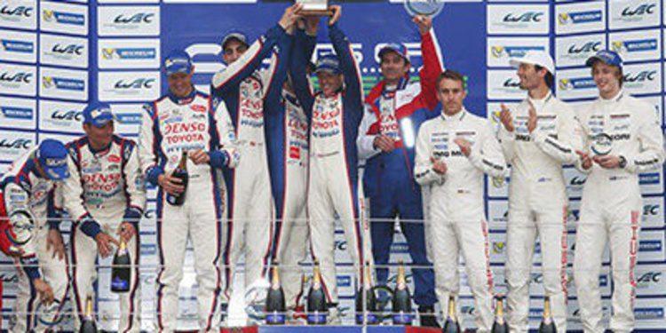 Toyota Campeón del Mundo de Resistencia 2014