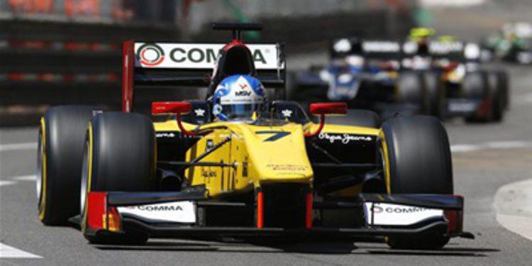 El campeón de GP2, Jolyon Palmer, al Race of Champions