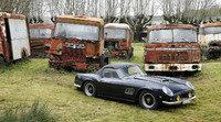 Descubierta una mega-colección de 100 clásicos abandonados en Francia