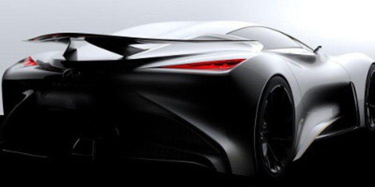 Primer teaser del Infiniti Vision Gran Turismo