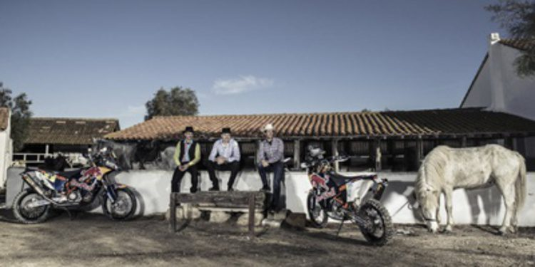 El video promocional del Red Bull para el Dakar 2015