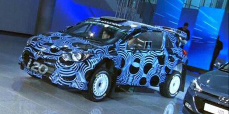 Hyundai presenta el i20 WRC Coupé para el WRC 2015