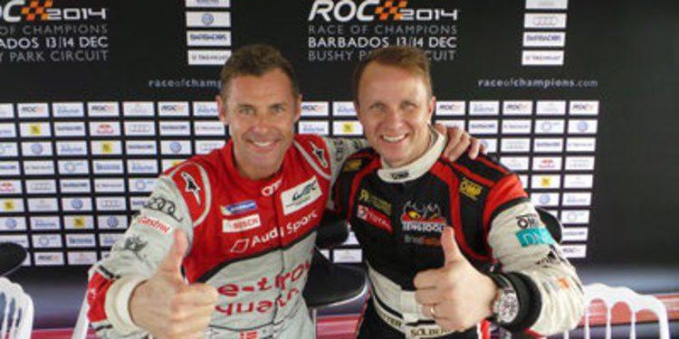 Tom Kristensen y Petter Solberg ganan la Nations Cup de la Race of Champions