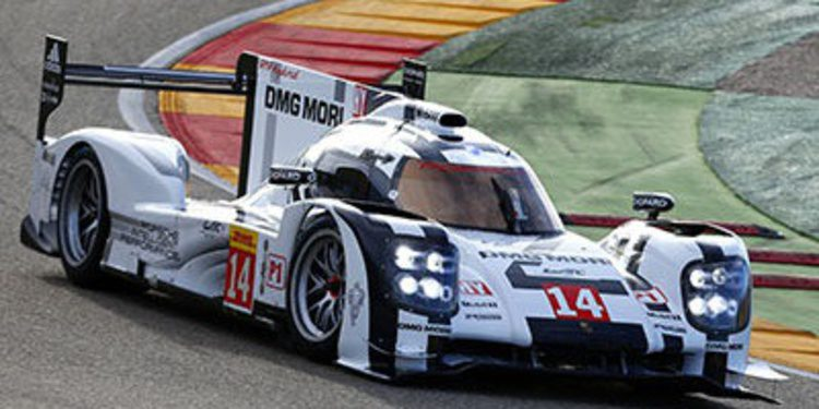 Nico Hulkenberg se estrena con el Porsche 919 Hybrid