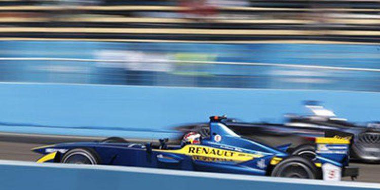 Stephane Sarrazin se impone en los tests de la Fórmula E