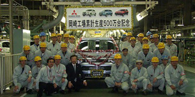Mitsubishi fabrica el vehículo 5 millones de Okazaki