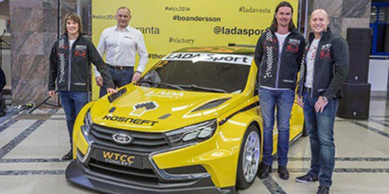 El Lada Vesta WTCC debutará el próximo enero
