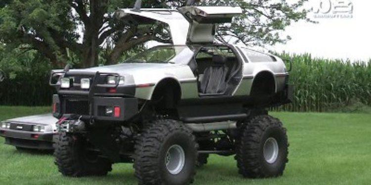 La colección más extraña de DeLorean DMC-12