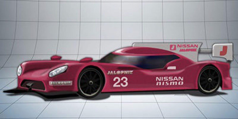 Este podría ser el aspecto del Nissan LMP1 para 2015