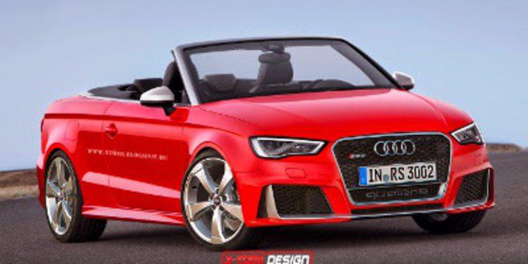 Versiones de carrocería del Audi RS3 en render
