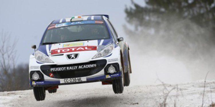 Craig Breen y Peugeot se reparten entre ERC y WRC2