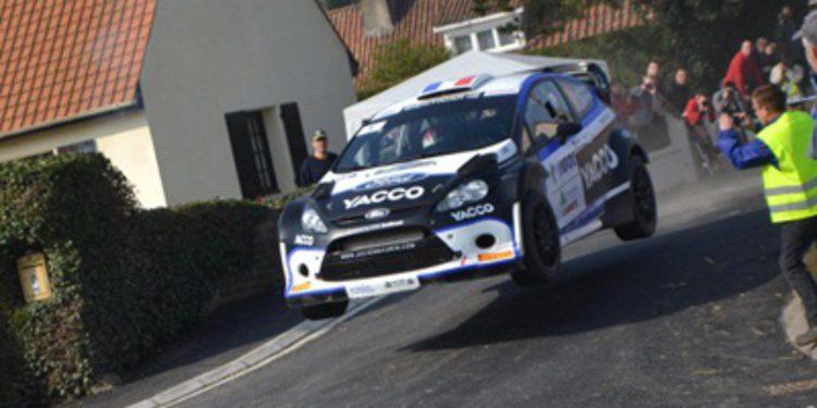 Programa de Julien Maurin en WRC2 con un Fiesta RRC