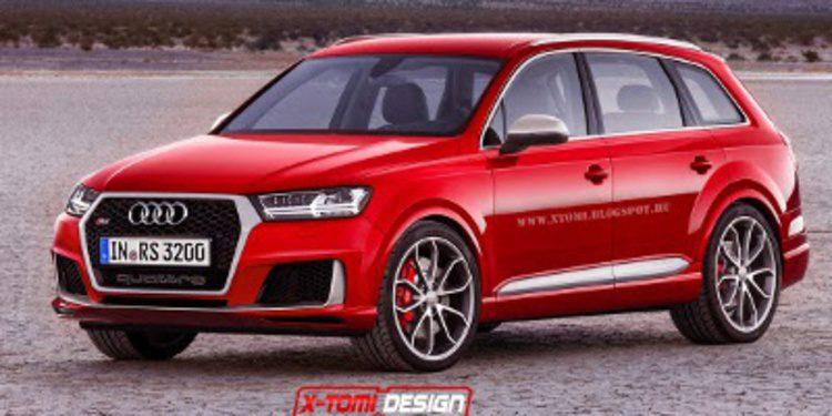 Nuevo Audi Q7 versión RS en render