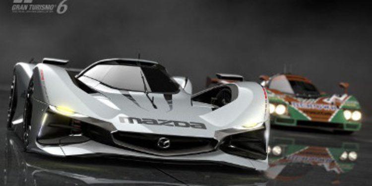 El primer regalo de navidad es el Mazda LM55 Vision Gran Turismo