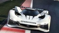 El Mazda LM55 Vision Gran Turismo en movimiento