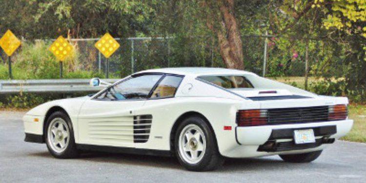 INOCENTADA - El Ferrari Testarossa ex-Miami Vice vendido por 36.8 millones