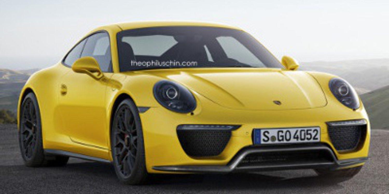Adelanto en render del nuevo Porsche 911