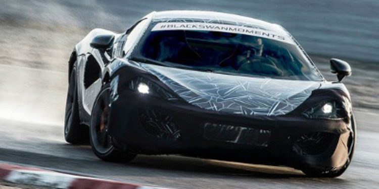 McLaren presentará el Sports Series en New York 2015