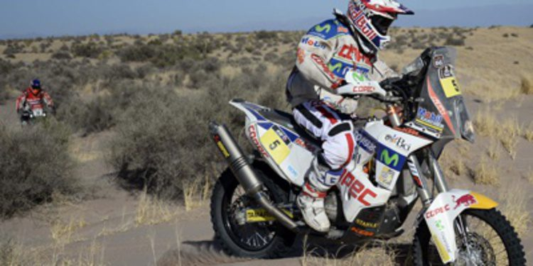 Francisco 'Chaleco' López deja las motos en el Dakar