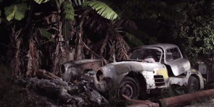 Descubierto un Mercedes 300 SL Gullwing abandonado en Cuba