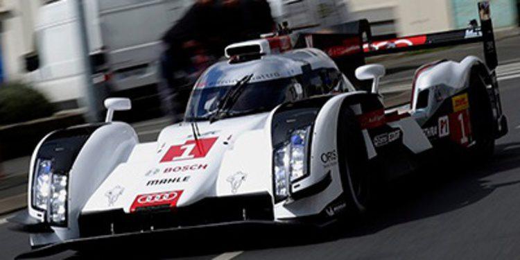 Al volante del Audi R18 e-tron quattro en Misano