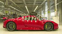 Proceso de fabricación del Porsche 918 Spyder