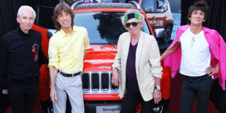 Jeep Renegade firmado por los Rolling Stones por 38.000 euros