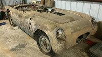 Descubierto posible Corvette cazarrécords abandonado