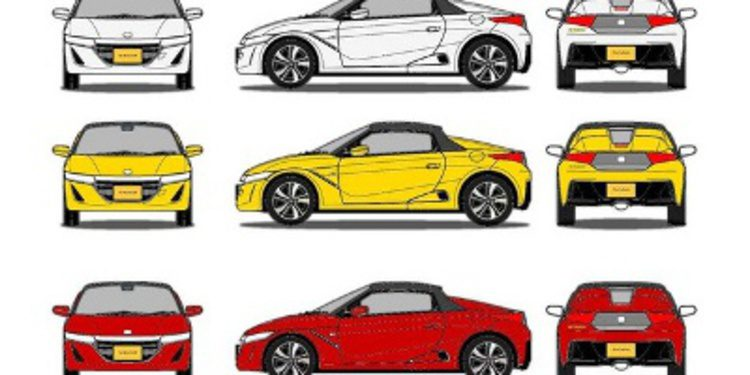 Filtradas imágenes y datos del Honda S660