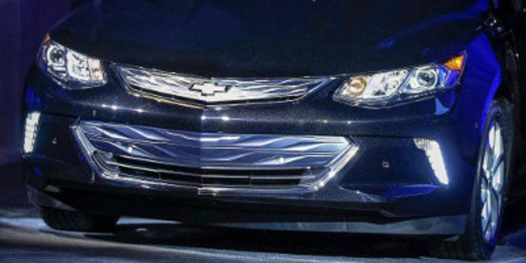 Chevrolet presenta fugazmente el nuevo Volt