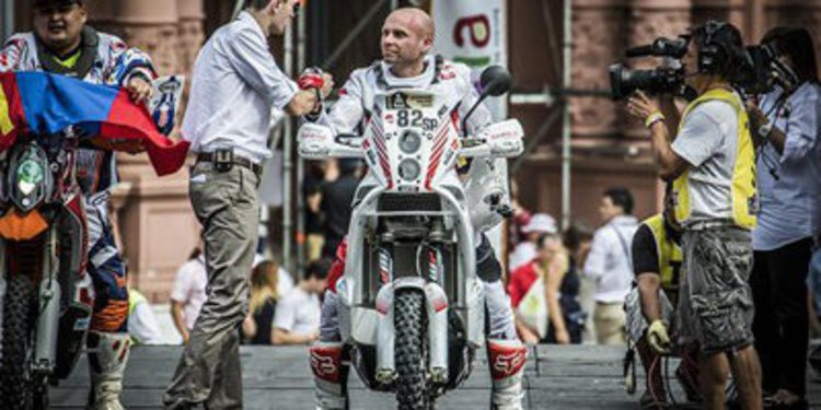 Muere Michal Hernik en la tercera etapa del Dakar 2015