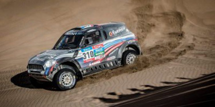 Dakar 2015, etapa 5: Vladimir Vasilyev consigue otra victoria para Mini
