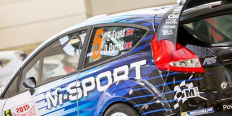 M-Sport presenta sus colores de guerra para el WRC 2015