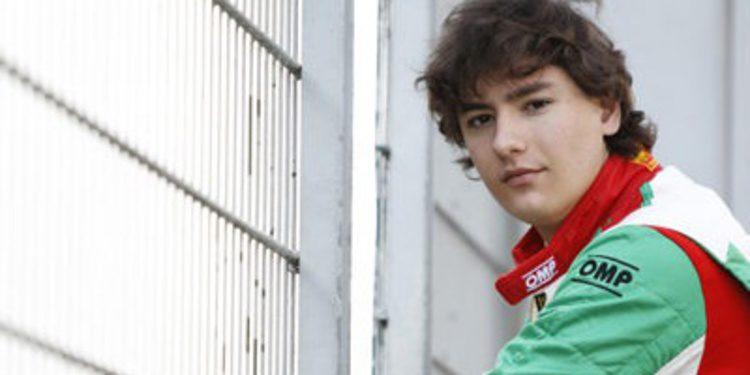 Alfonso Celis Jr en ART para la temporada 2015 de GP3