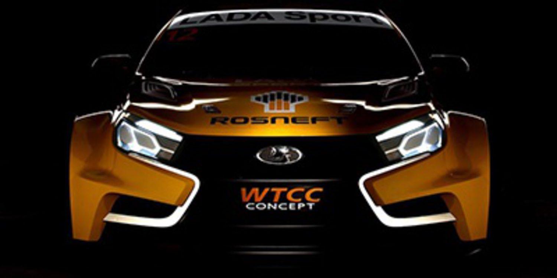 Así será el nuevo Lada Vesta para el WTCC