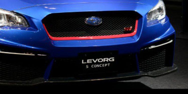 Subaru presenta en Japón el Levorg S Concept