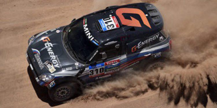 Dakar 2015: Clasificaciones tras la sexta etapa