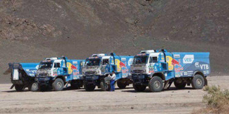 Dakar 2015: Etapa 7 entre Iquique y Uyuni (coches y camiones)