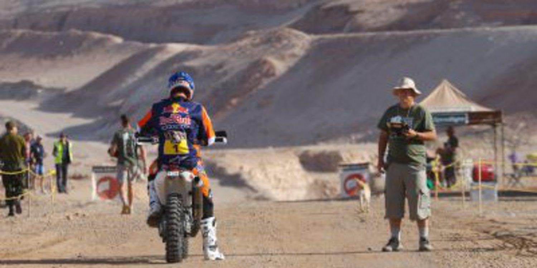 Dakar 2015: Las motos y los quads descansan en Iquique