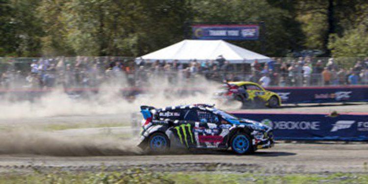 Ken Block lidera el programa de rallycross de M-Sport