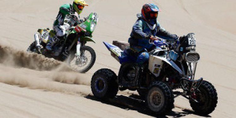 Dakar 2015: Etapa 7 entre Iquique y Uyuni (motos y quads)
